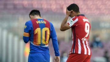 Atlético y Barcelona igualan sin goles y allanan el camino del Real al liderato