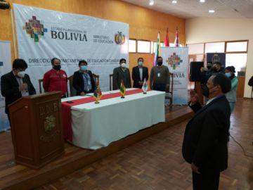 Félix Salinas es el nuevo director distrital de Educación de Sucre