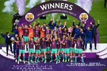 El Barcelona vence 4-0 al Chelsea y logra su primera Champions femenina
