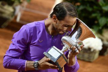 Nadal derrota a Djokovic y conquista su 10ª corona en Roma