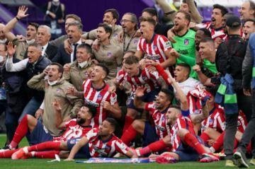 El Atlético de Madrid alcanza la gloria de la mano de Luis Suárez