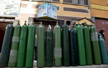 Gobierno prevé escasez de oxígeno dentro de una semana por alza de contagios de covid-19