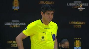 El chuquisaqueño Henrry Gutiérrez, entre los mejores árbitros de la Libertadores de futsal