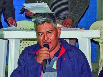 Wilmar Aguirre niega vínculos con el MAS y dice que buscará a las instituciones