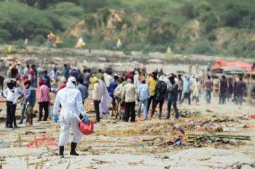 El covid-19 provocó en India más de 300 mil muertes