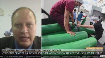 Gobierno gestiona permiso por razones humanitarias para importar oxígeno de Argentina