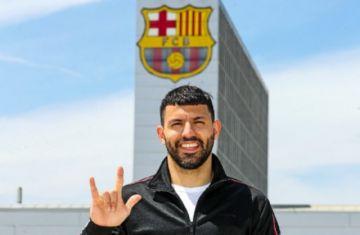 El Barcelona ficha a Sergio Agüero hasta 2023