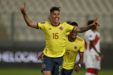Colombia goleó 3-0 a Perú en Lima por la clasificatoria a Qatar 2022