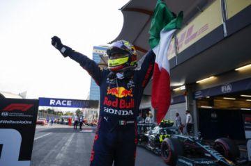 Fórmula 1: El mexicano Sergio Pérez reina en el caos de Azerbaiyán
