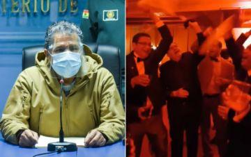"""Ministro de Defensa pide """"no escandalizar"""" con festejo militar sin medidas de bioseguridad"""