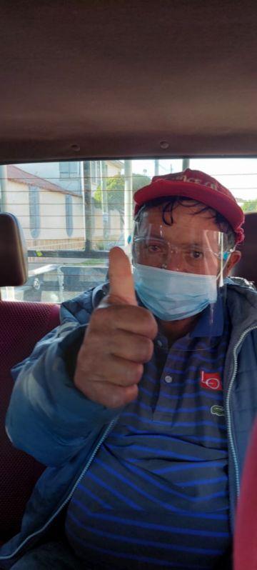 """""""Whisky"""", popular personaje de Sucre, se recupera y sale del hospital"""