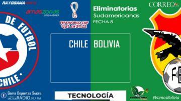 EN VIVO Bolivia visita a Chile