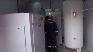 Entregan en Potosí una nueva planta de oxígeno medicinal