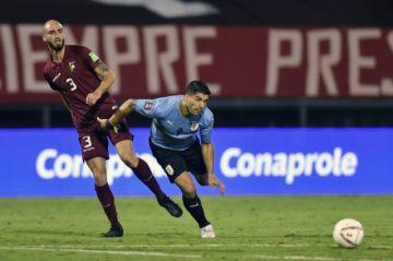 Luis Suárez y Uruguay vuelven a echar en falta gol y empatan con Venezuela