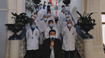 Gobernación destina presupuesto adicional de Bs 6 millones a la atención de la pandemia