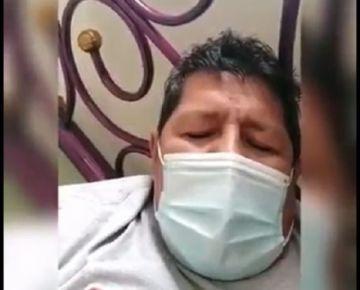 Fallece por covid el suboficial que denunció abandono; Policía dice que su familia lo sacó del centro de aislamiento