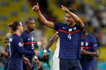 Francia sobrepasa a Alemania pero solo gana por la mínima