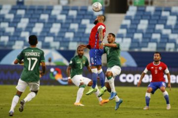 Final del partido: Chile 1-0 Bolivia