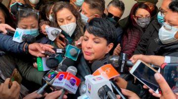 """Exdiputada Rivero declara en la Fiscalía: """"Nunca hubo vacío de poder en 2019"""""""