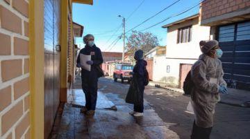 """En marcha el rastrillaje y la desinfección del Distrito 2 de Sucre, calificado como """"zona roja"""""""