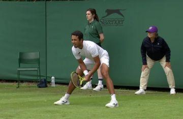 Dellien gana sin problemas y avanza en el clasificatorio de Wimbledon