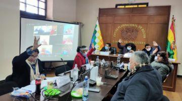 Comisión del Legislativo aprueba juicio contra Sánchez de Lozada, Cárdenas y exprefectos