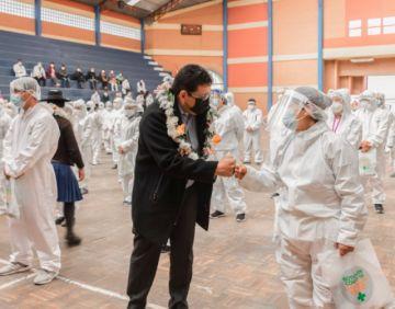 Asamblea de Chuquisaca destaca entrega de 323 contratos para personal de salud