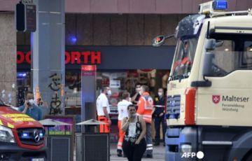 Ataque de un somalí causó tres muertos en ciudad alemana de Wurzburgo