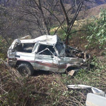 Muere funcionario municipal de Incahuasi al embarrancarse un jeep