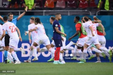 Francia, campeona del mundo, se va de la Eurocopa en octavos en penales contra Suiza