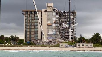 Balance de muertos en derrumbe en Florida sube a 16 en séptimo día de búsqueda