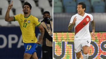 Brasil y Perú se citan en semifinales de la Copa América