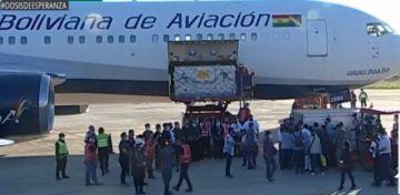 BoA programa 10 vuelos a China para transportar nuevos lotes de la vacuna Sinopharm