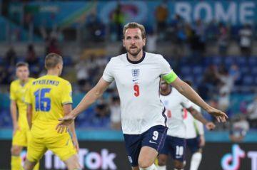 Inglaterra golea a Ucrania para acceder a semifinales de la Eurocopa