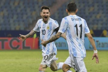 Argentina cumple con la historia y se cita con Colombia en semis