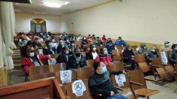 Elapas: Asamblea de instituciones resuelve solicitar audiencia a comisión del Legislativo