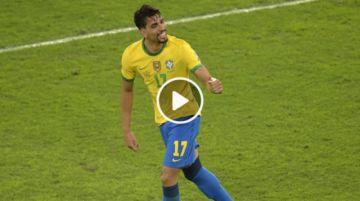 Final del partido: Brasil 1-0 Perú
