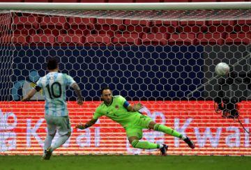 Argentina gana por penales a Colombia y jugará la final de la Copa América con Brasil