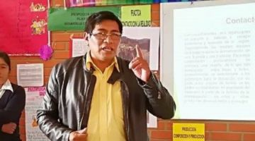 Duelo en la comunidad educativa de Chuquisaca: Falleció el director distrital de Yamparáez