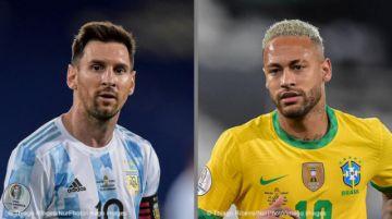 Messi vs. Neymar, la final soñada de la Copa América 2021