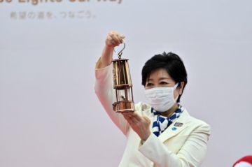 La antorcha olímpica llega a Tokio para un relevo sin espectadores