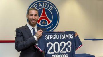Sergio Ramos ficha por el PSG hasta 2023
