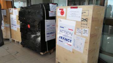 Llega a Bolivia donación de Francia con insumos médicos valuados en más de $us 142 mil