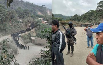 Dos policías heridos tras enfrentamientos en Charopampa por tierras auríferas