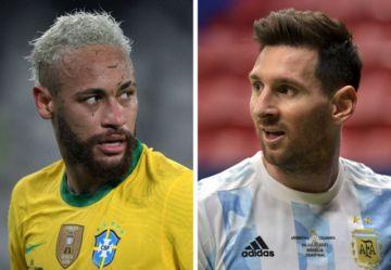 Brasil y Argentina, con Neymar y Messi, definen este sábado la Copa América en un partido histórico