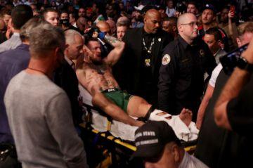 McGregor pierde su tercera pelea ante Poirier al sufrir impactante lesión