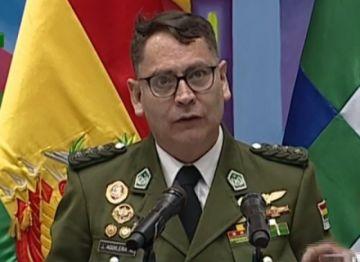 Aguilera admite que un primer informe niega la existencia de pertrechos argentinos en la Policía