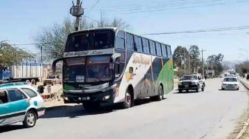 Pasajero quita el volante a conductor ebrio y conduce flota entre Camargo y Tarija