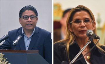 """Jeanine Áñez formaliza acusación en contra del Ministro de Justicia por """"graves delitos"""""""