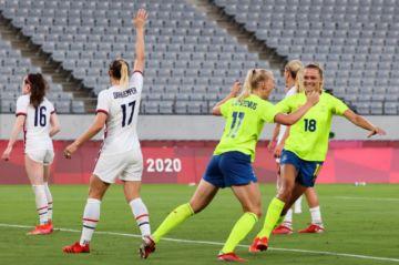 Suecia humilla a USA y Holanda logra una goleada histórica en el debut del fútbol olímpico femenino